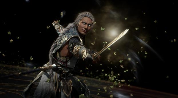 Fujin Mortal Kombat Wallpaper 1080x2160 Resolution