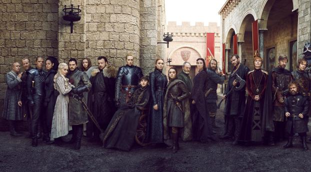 HD Wallpaper | Background Image Game of Thrones 2019 Full Cast