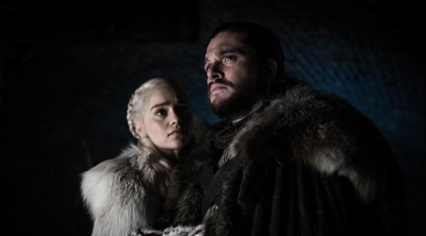 1280x2120 Game Of Thrones Season 8 Jon Snow And Daenerys