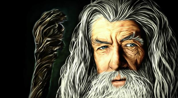 HD Wallpaper | Background Image Gandalf The Lord of the Rings Artwork