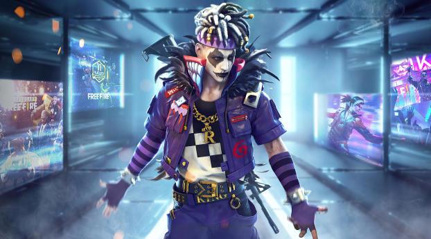 Garena Free Fire Joker Wallpaper