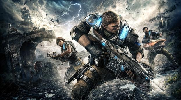 HD Wallpaper | Background Image Gears of War 4