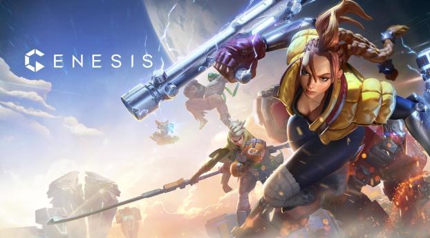 Genesis Video Game Wallpaper