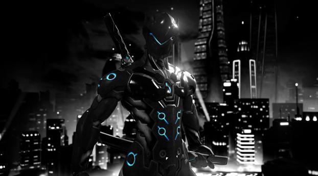 HD Wallpaper | Background Image Genji Overwatch