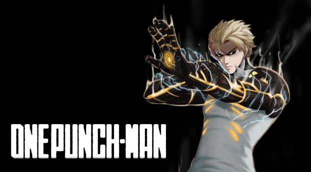 HD Wallpaper | Background Image Genos One Punch Man
