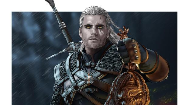 HD Wallpaper | Background Image Geralt Of Rivia Netflix