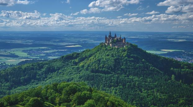 Germany Hohenzollern Castle Wallpaper