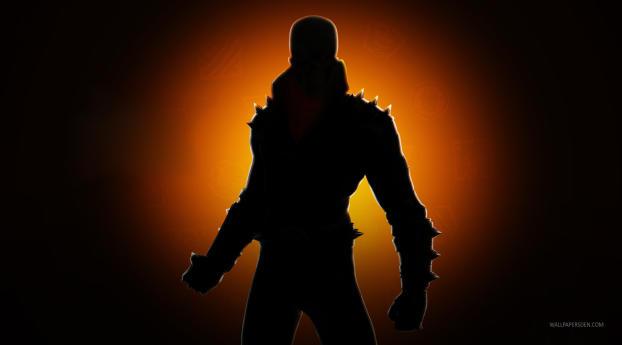 Ghost Rider Fortnite Chapter Season 4 Wallpaper 240x400 Resolution