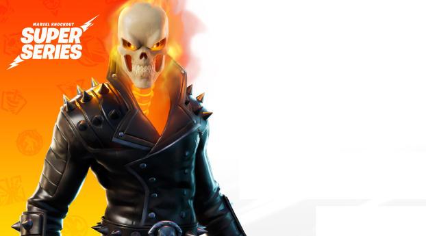Ghost Rider Fortnite Season 4 Marvel Series Wallpaper 1024x768 Resolution