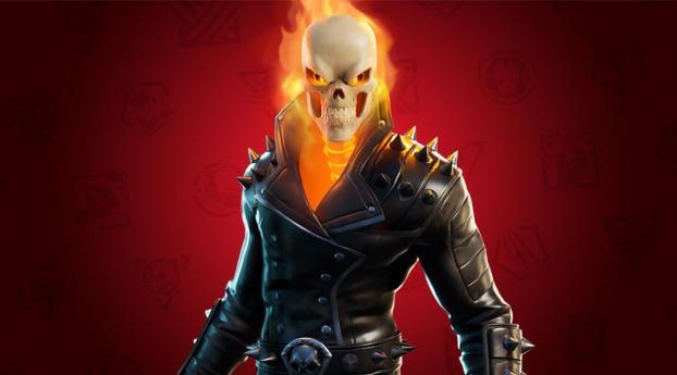 Ghost Rider Fortnite Wallpaper