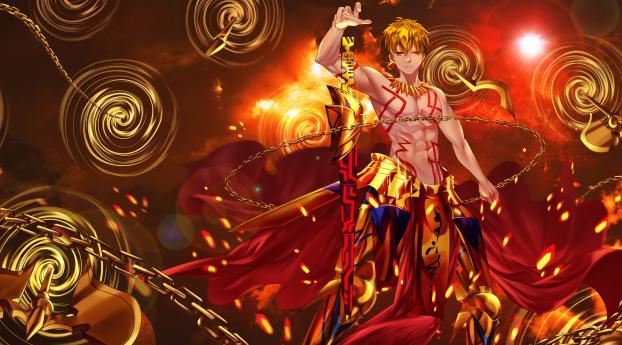 Gilgamesh Fate Anime Wallpaper
