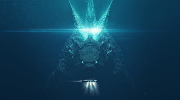 HD Wallpaper | Background Image Godzilla King of the Monsters 2019 Poster