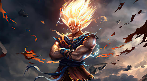 480x484 Goku New Dragon Ball Z Art Android One Wallpaper Hd Anime 4k Wallpapers Images Photos And Background