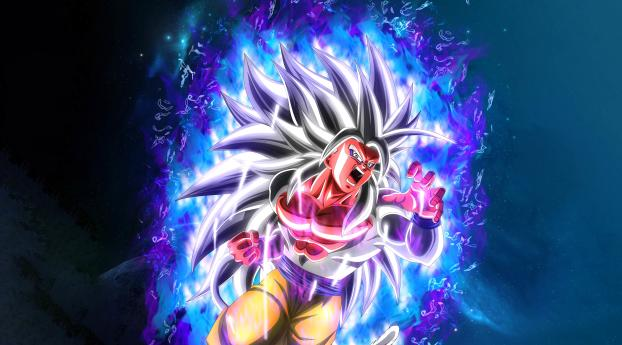 480x854 Goku Ssj5 8k Android One Mobile Wallpaper Hd Anime