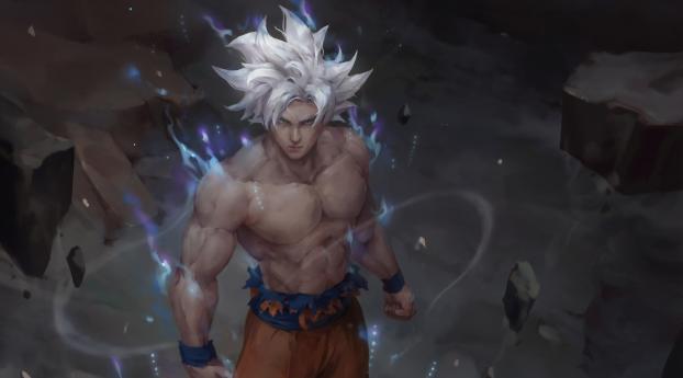 Goku Ultra Instinct Art Dragon Ball Wallpaper