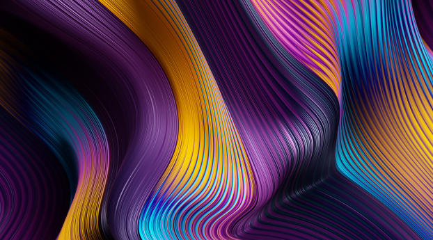 HD Wallpaper | Background Image Gradient Flow Lines