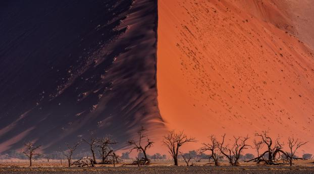 HD Wallpaper   Background Image Great Wall of Namib