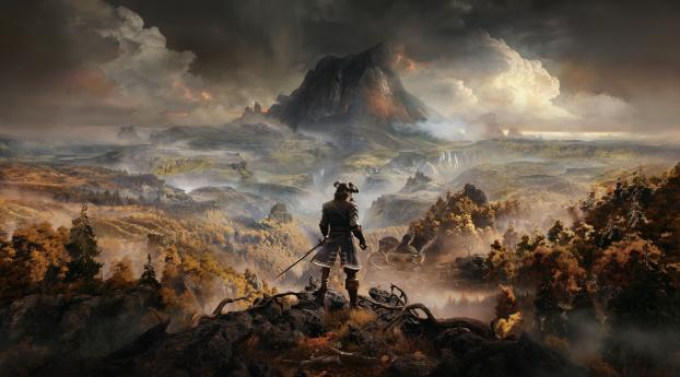 HD Wallpaper | Background Image GreedFall 4k 8k Poster