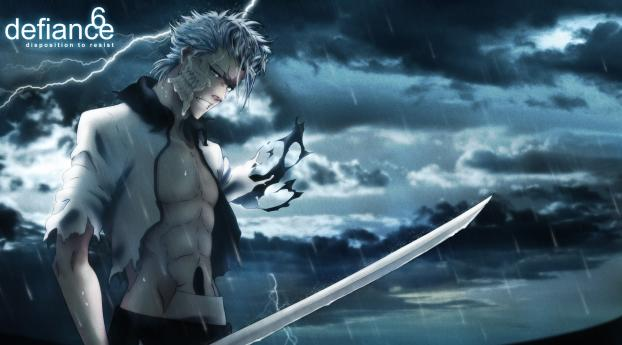 Grimmjow Jaegerjaquez Art Wallpaper Hd Anime 4k Wallpapers Images Photos And Background Wallpapers Den