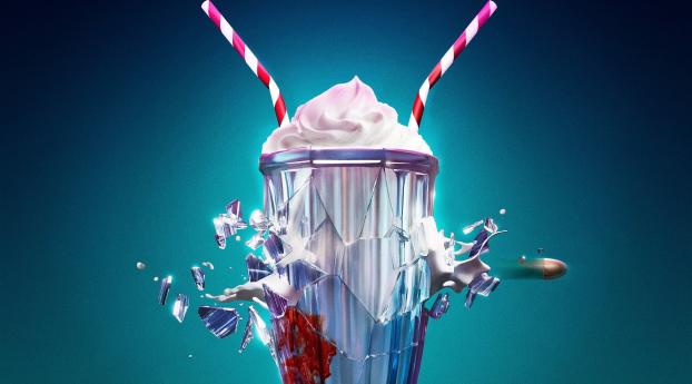 Gunpowder Milkshake Movie Poster Wallpaper