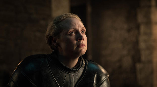 HD Wallpaper | Background Image Gwendoline Christie as Brienne Of Tarth Game Of Thrones