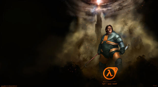 HD Wallpaper | Background Image Half Life 3 Gabe Newell Funny