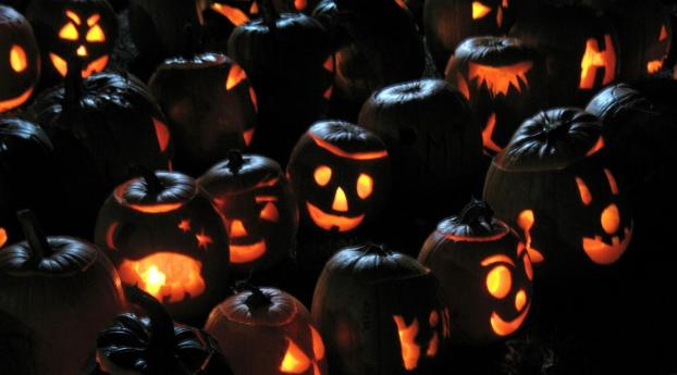 750x1334 Halloween Pumpkins Jacks Lanterns Iphone 6