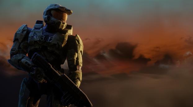 HD Wallpaper   Background Image Halo 3 5K