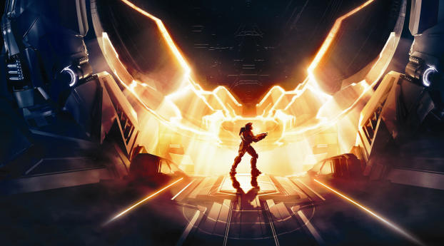 HD Wallpaper | Background Image Halo Infinite Art