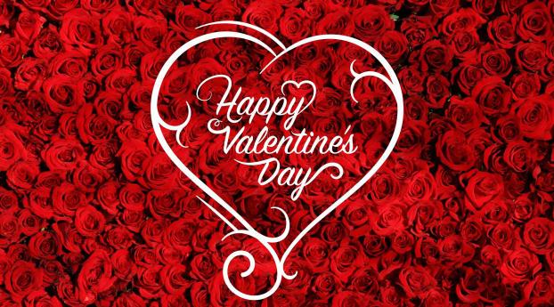 Happy Valentine's Day 2021 Wallpaper 240x400 Resolution