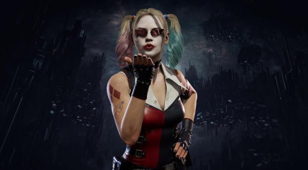 Harley Quinn Mortal Kombat 11 Wallpaper
