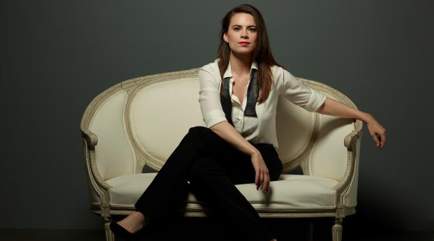 HD Wallpaper | Background Image Hayley Atwell in Conviction