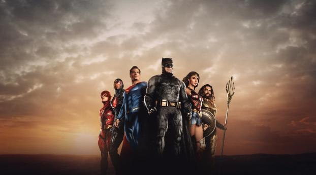 HBO Zack Snyder's Justice League Wallpaper