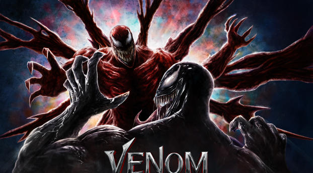 HD Poster of Venom Let There Be Carnage Wallpaper
