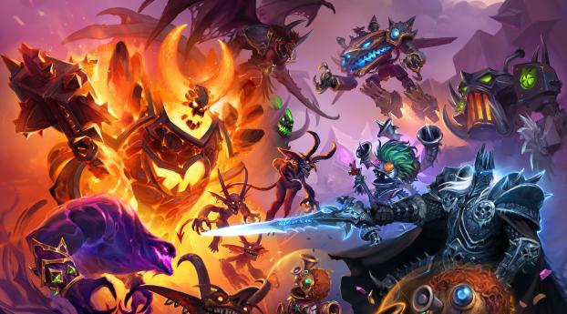 Hearthstone Heroes of Warcraft 2020 Wallpaper