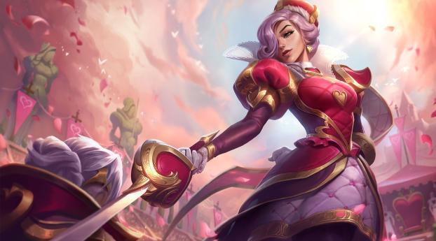 HD Wallpaper | Background Image Heartpiercer Fiora League Of Legends