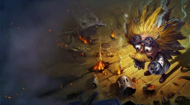 Heimerdinger League Of Legends Wallpaper