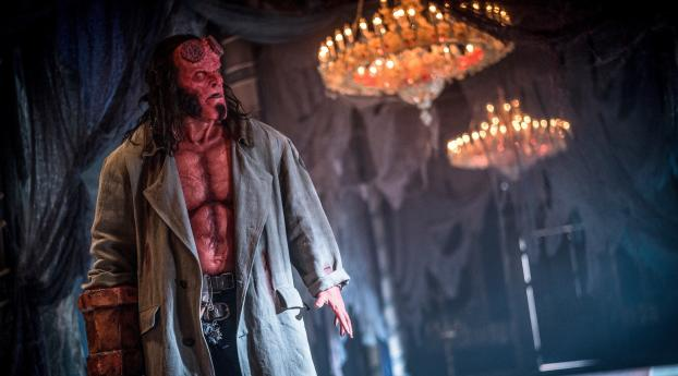 HD Wallpaper | Background Image Hellboy 2019 Movie Still