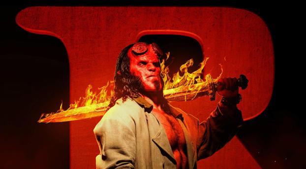 Hellboy 2019 Movie Wallpaper 1400x900 Resolution