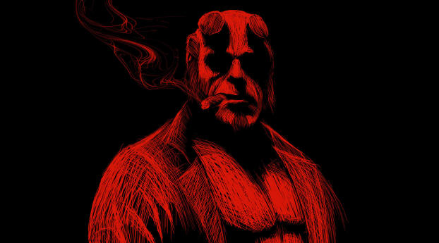 HD Wallpaper | Background Image Hellboy Artwork