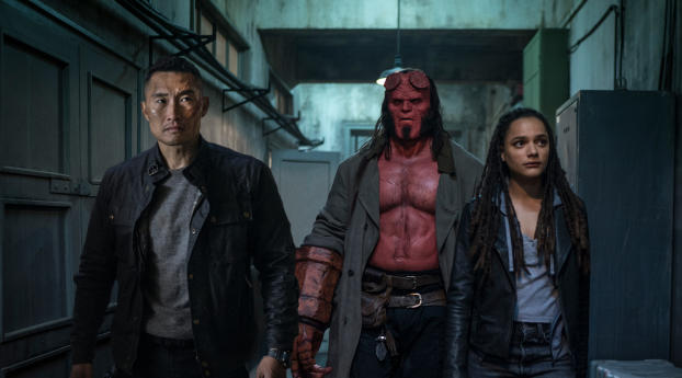 HD Wallpaper | Background Image Hellboy Movie 2019 Still