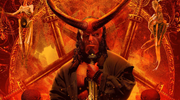 HD Wallpaper | Background Image Hellboy Movie 4K