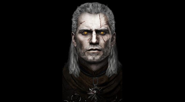 HD Wallpaper | Background Image Henry Cavill As Geralt Of Rivia Fan Art