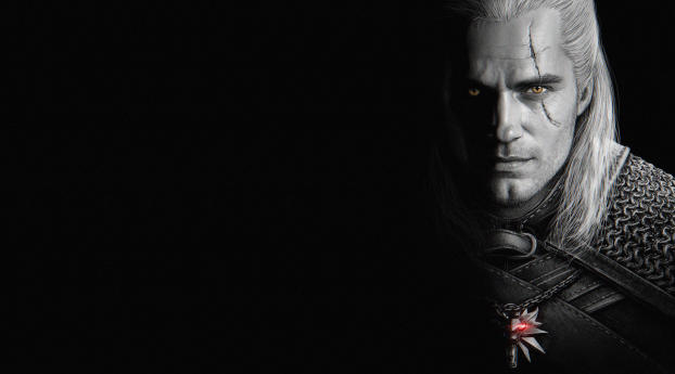 HD Wallpaper | Background Image Henry Cavill As Geralt of Rivia