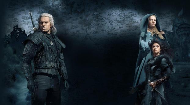 HD Wallpaper   Background Image Henry Cavill as Geralt Witcher