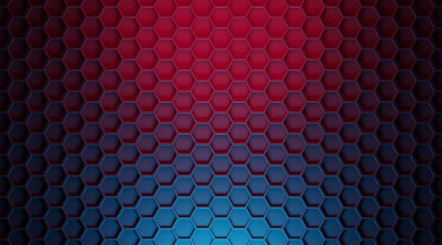 Hexagon 3D Pattern Wallpaper 2560x1700 Resolution