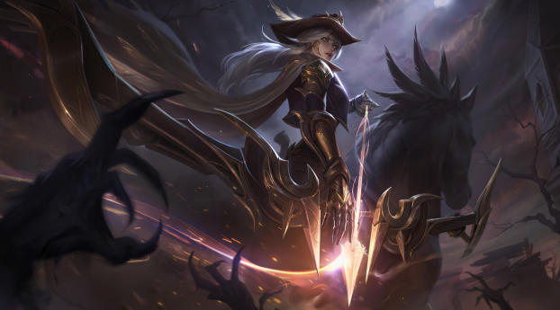 HD Wallpaper | Background Image High Noon Ashe