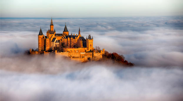 Hohenzollern Castle Wallpaper in 1080x1920 Resolution