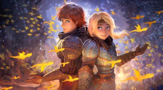 HD Wallpaper | Background Image How to Train Your Dragon The Hidden World Movie