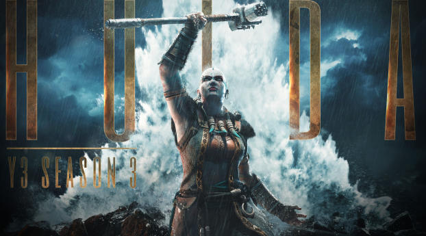 HD Wallpaper | Background Image Hulda In For Honor Season 3